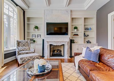 Oakville Architecture Photography Video | Great-Room-(Fireplace)