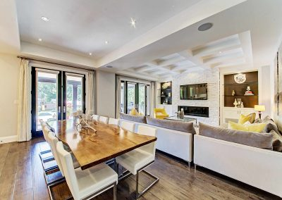 Oakville Architecture Photography Video | Great-Room-and-Dining-Area-(2)